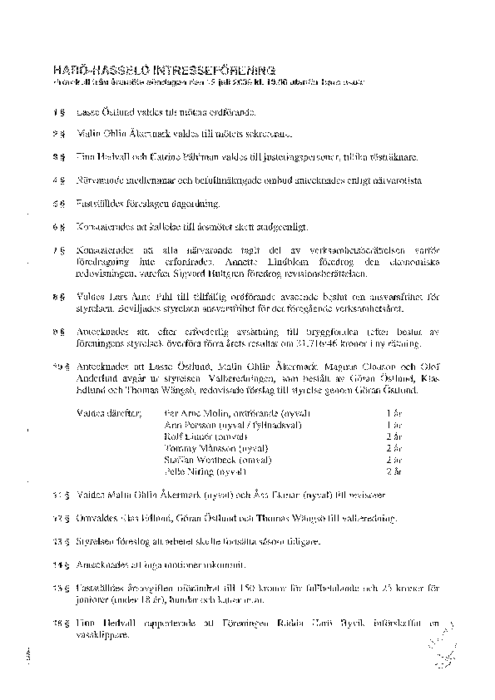 HHIF-arsmote-protokoll-2009
