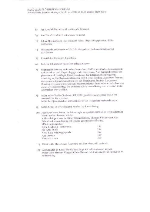 Protokoll 2010