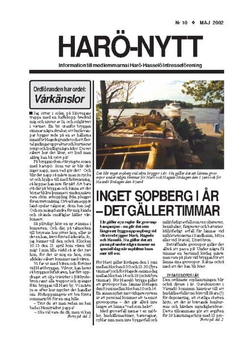 Harö-Nytt 10-02
