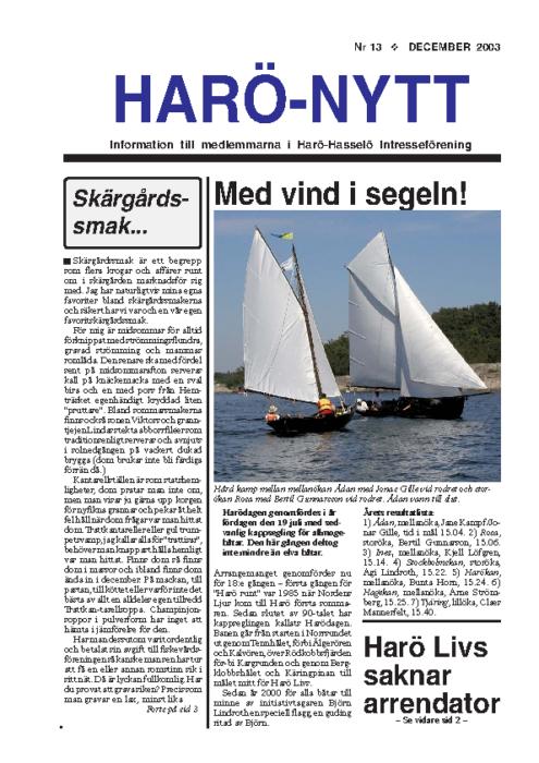 Haro-Nytt 13-03