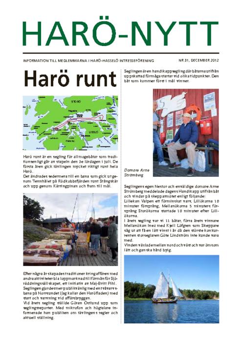 Haro-Nytt 31-12